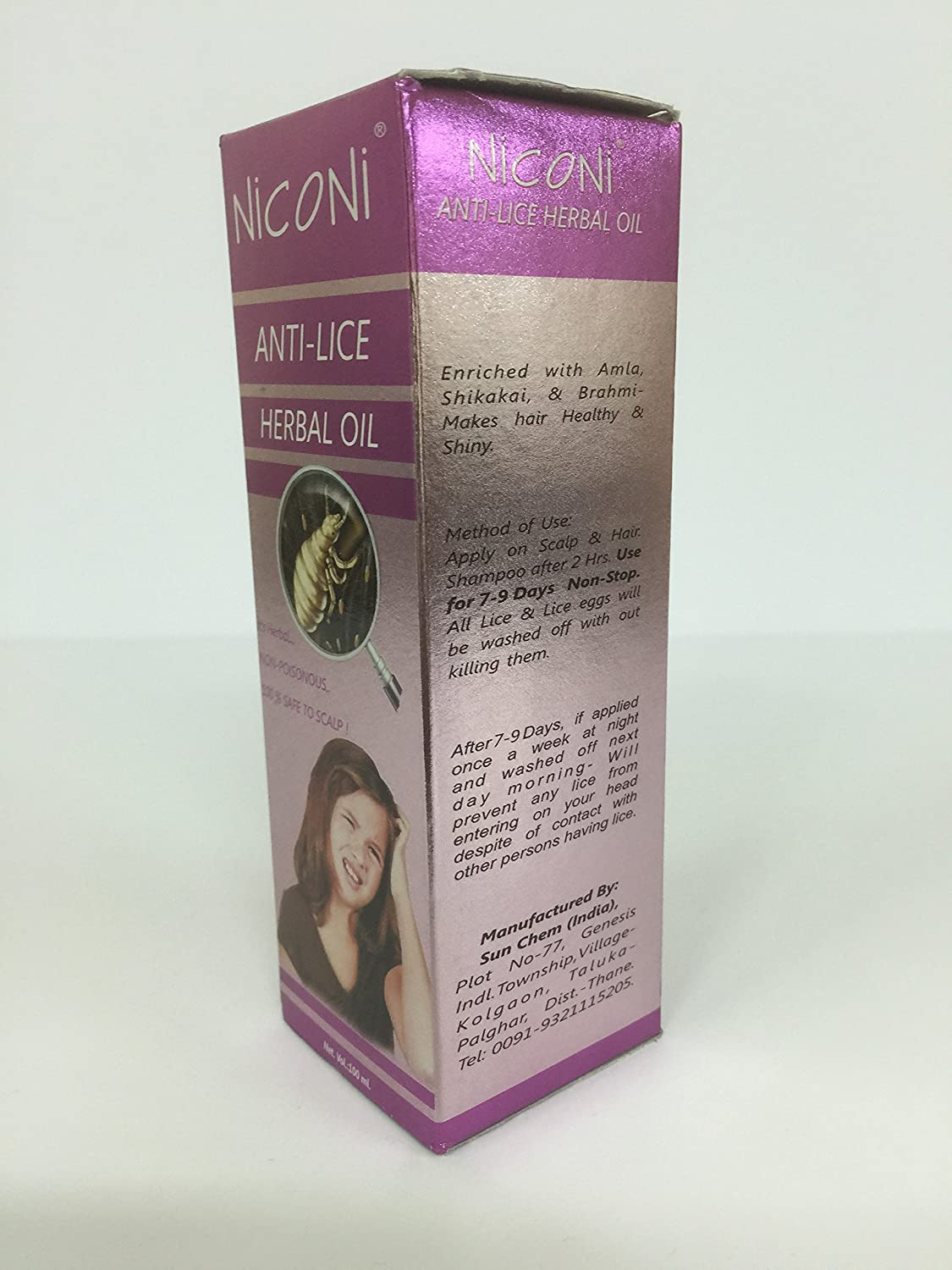 Buy Niconi Anti Lice Herbal Hair Oil 100 Ml Online At Low Prices In