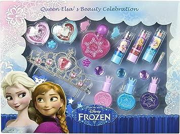 Disney Frozen - Blockbuster de maquillaje de la princesa Elsa (Markwins International 9529512): Amazon.es: Juguetes y juegos