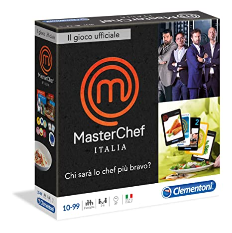 Clementoni 12043 Master Chef Italia 5 Nuova Edizione Amazon It