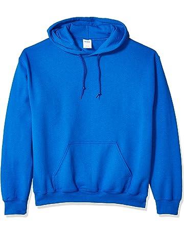 50df72a073eb Gildan Men s Heavy Blend Fleece Hooded Sweatshirt G18500