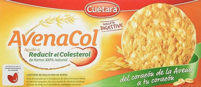 Cuetara - AvenaCol - Galletas digestivas - 300 g - [Pack de 5]