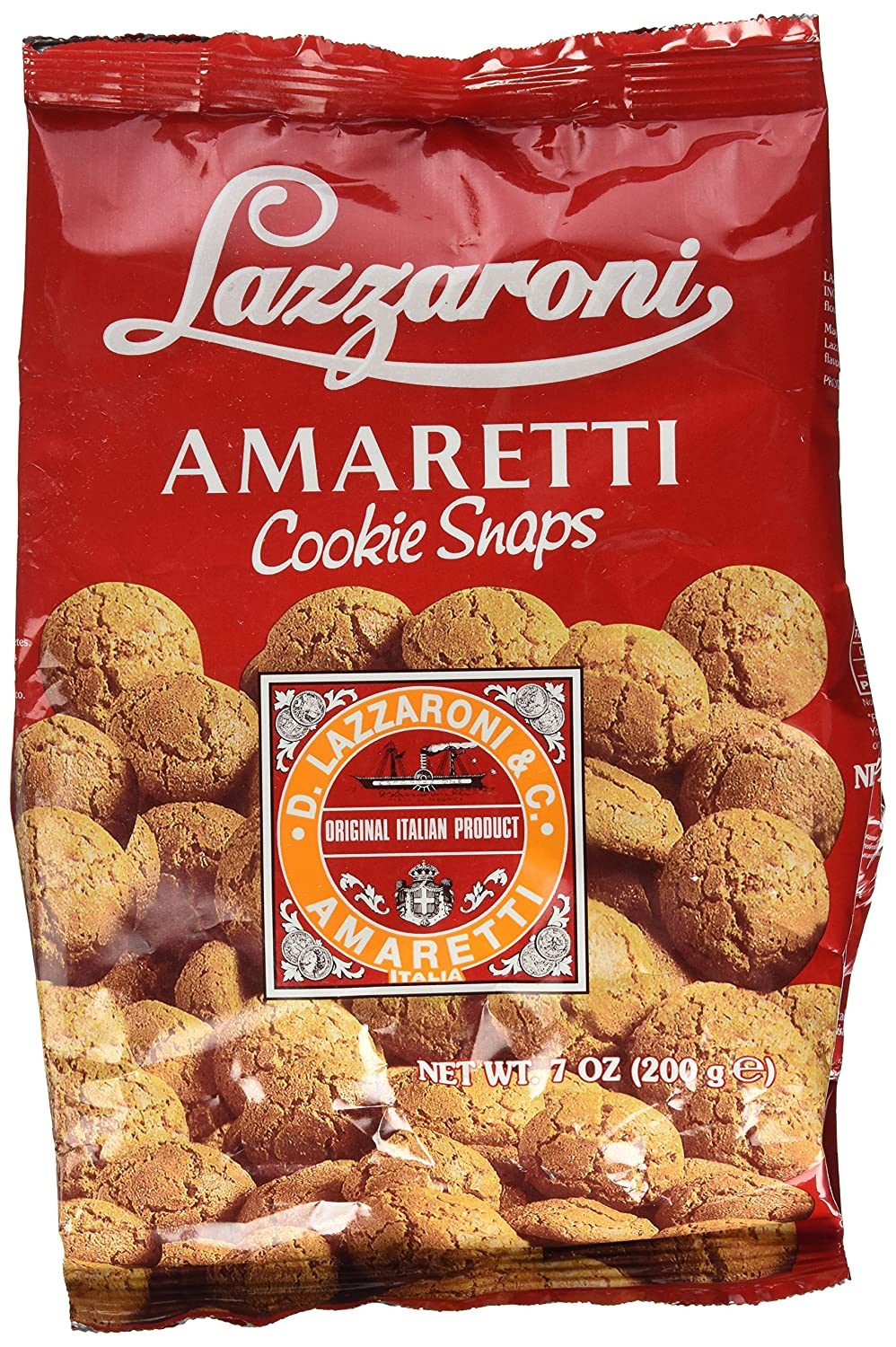 Amaretti Cookie Snaps by Lazzaroni (7 ounce)