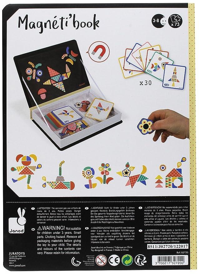 Janod J02720 Moduloform Magneti\'Book: Amazon.co.uk: Toys & Games