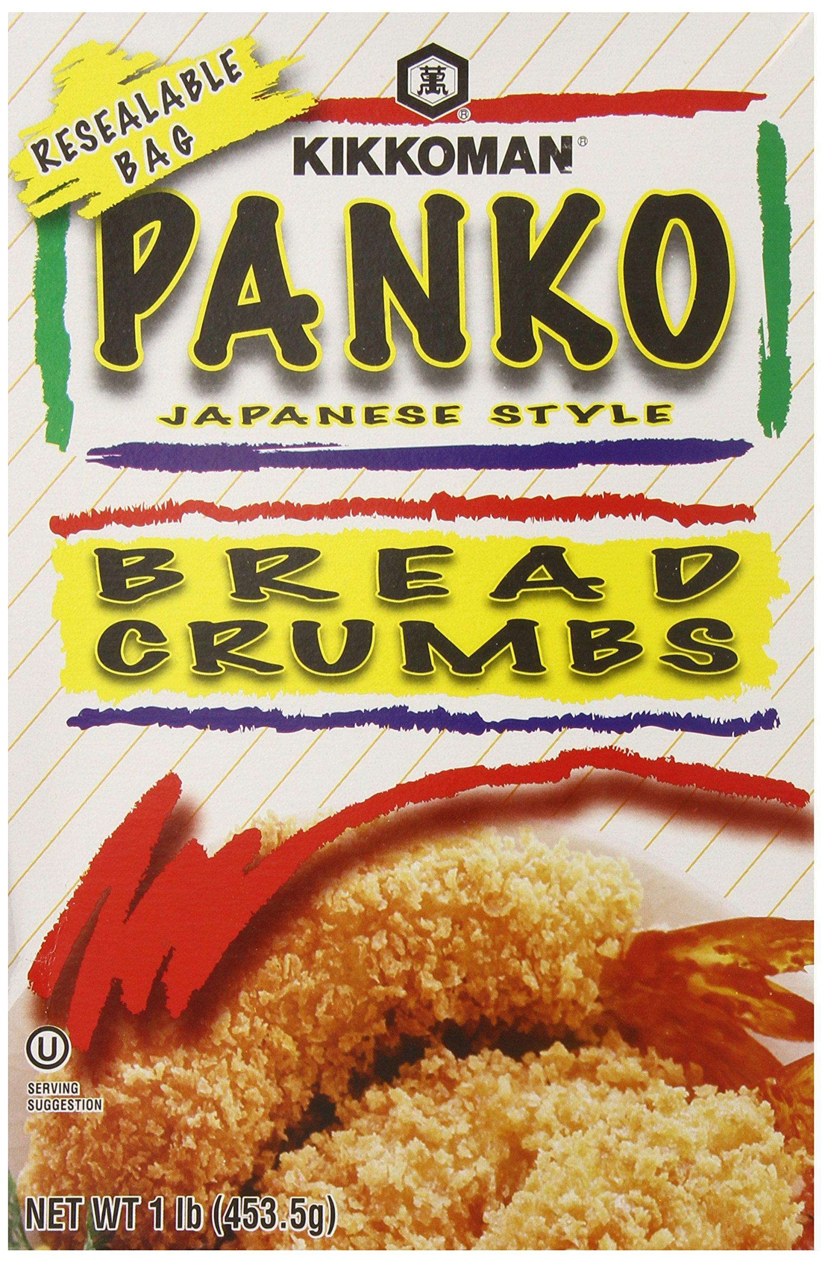 Kikkoman Panko Breading Crumbs, 1 Pound