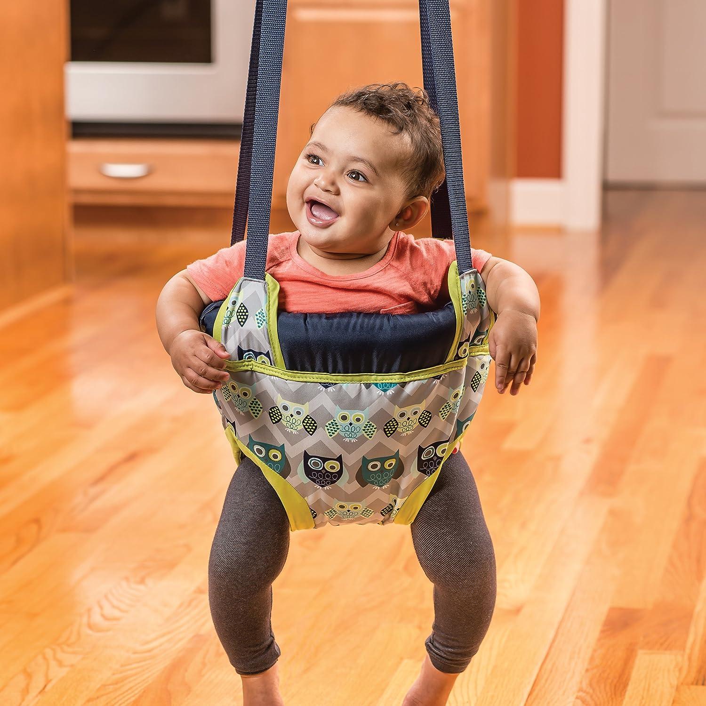 Amazon.com : Evenflo ExerSaucer Door Jumper, Roo : Baby Doorway Jumpers :  Baby