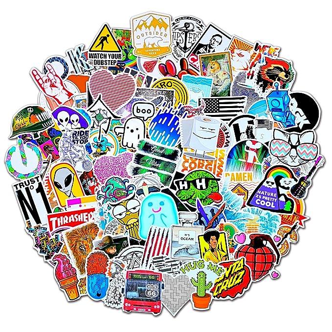 Amazon.com: Style-D 100Pcs Featured Stickers(50~500 Pcs/Pack ...