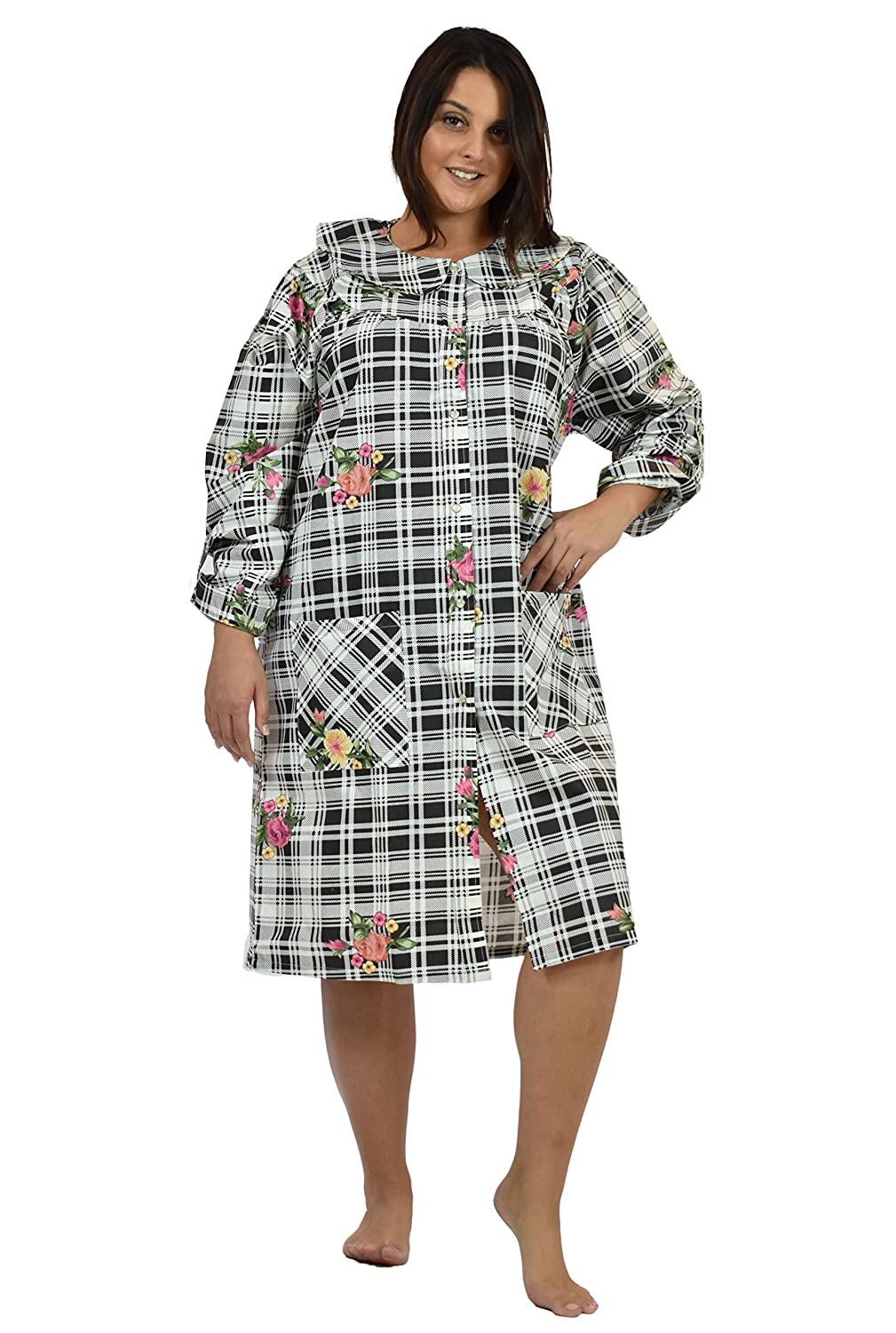 Up2date Fashion Womens Cotton Nightgown/House Dress at Amazon ...