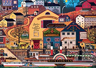 product image for Buffalo Games - Charles Wysocki - The Bostonian - 300 Large Piece Jigsaw Puzzle