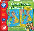 Orchard Toys Great Britain & Ireland Map Puzzle Jigsaw Puzzle