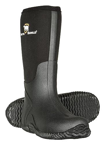 e602f4321db31 ArcticShield Men s Waterproof Durable Insulated Rubber Neoprene Outdoor  Boots
