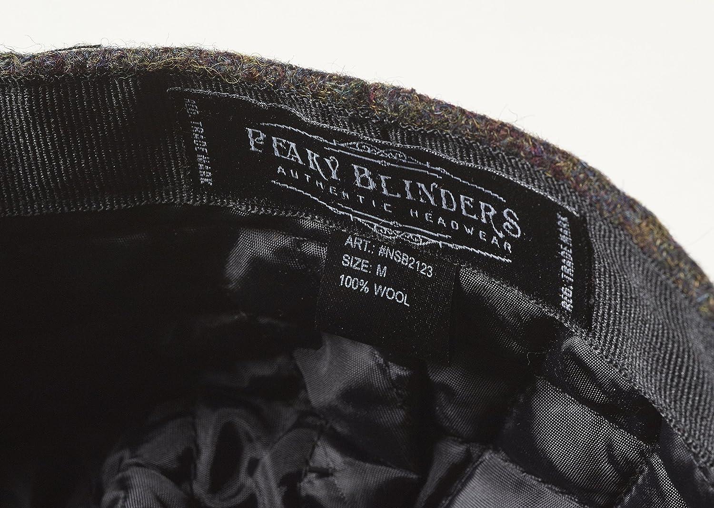 Gorra de Peaky Blinders, en 8 piezas, 100 % lana, de estilo chico repartidor de periódicos: Amazon.es: Ropa y accesorios