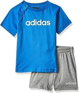 adidas Kinder Anzug Infinitex Tee Short: : Bekleidung