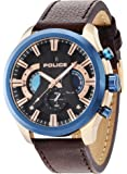 Police montre homme Cyclone chronographe PL.14639JSRBL/02