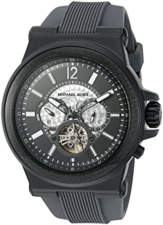 1352590f2cff Image Unavailable. Image not available for. Color  Michael Kors Men s Dylan Black  Watch MK9026