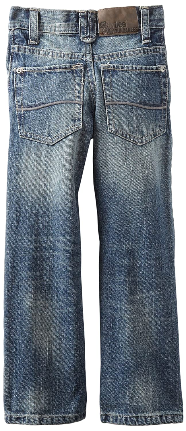 Amazon.com: Lee Little Boys Peto Skinny Pierna Recta Jeans ...