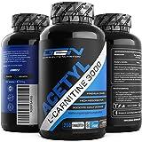 Acetyl L-Carnitin 3000-250 Tabletten - 3000 mg pro Tagesportion - Extra Stark - 100% Acetyl L-Carnitine - Stärkste L-Carnitine Form - Vegan - Premium Qualität - German Elite Nutrition