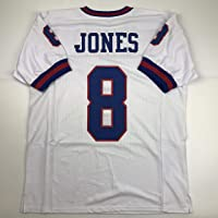 $49 » Unsigned Daniel Jones New York Color Rush Custom Stitched Football Jersey Size Men's XL New No Brands/Logos
