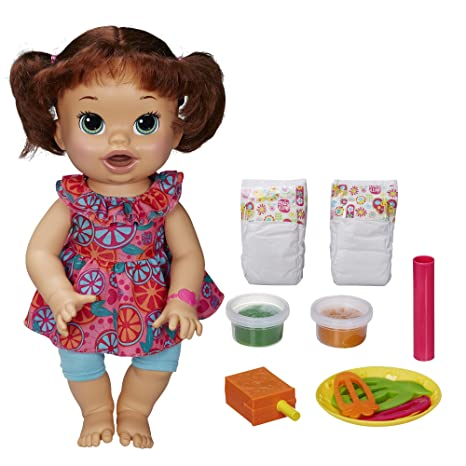 Baby Alive Super Snackin' Sara - Brunette