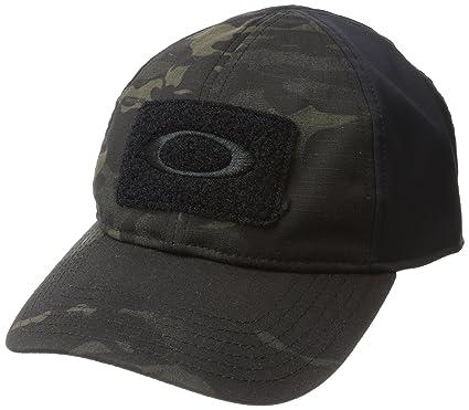 d067d8b5 Oakley SI Cotton Black Camo Flexfit: Amazon.co.uk: Clothing