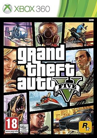 Grand Theft Auto V (Xbox 360): Amazon co uk: PC & Video Games