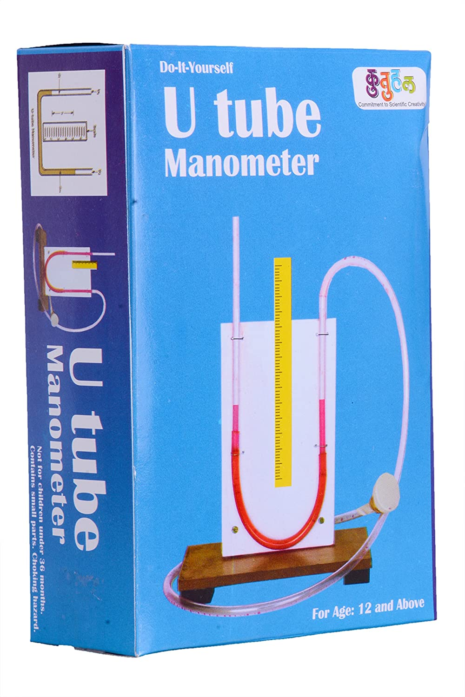 Buy u tube manometer do it yourself science project kit online buy u tube manometer do it yourself science project kit online at low prices in india amazon solutioingenieria Images
