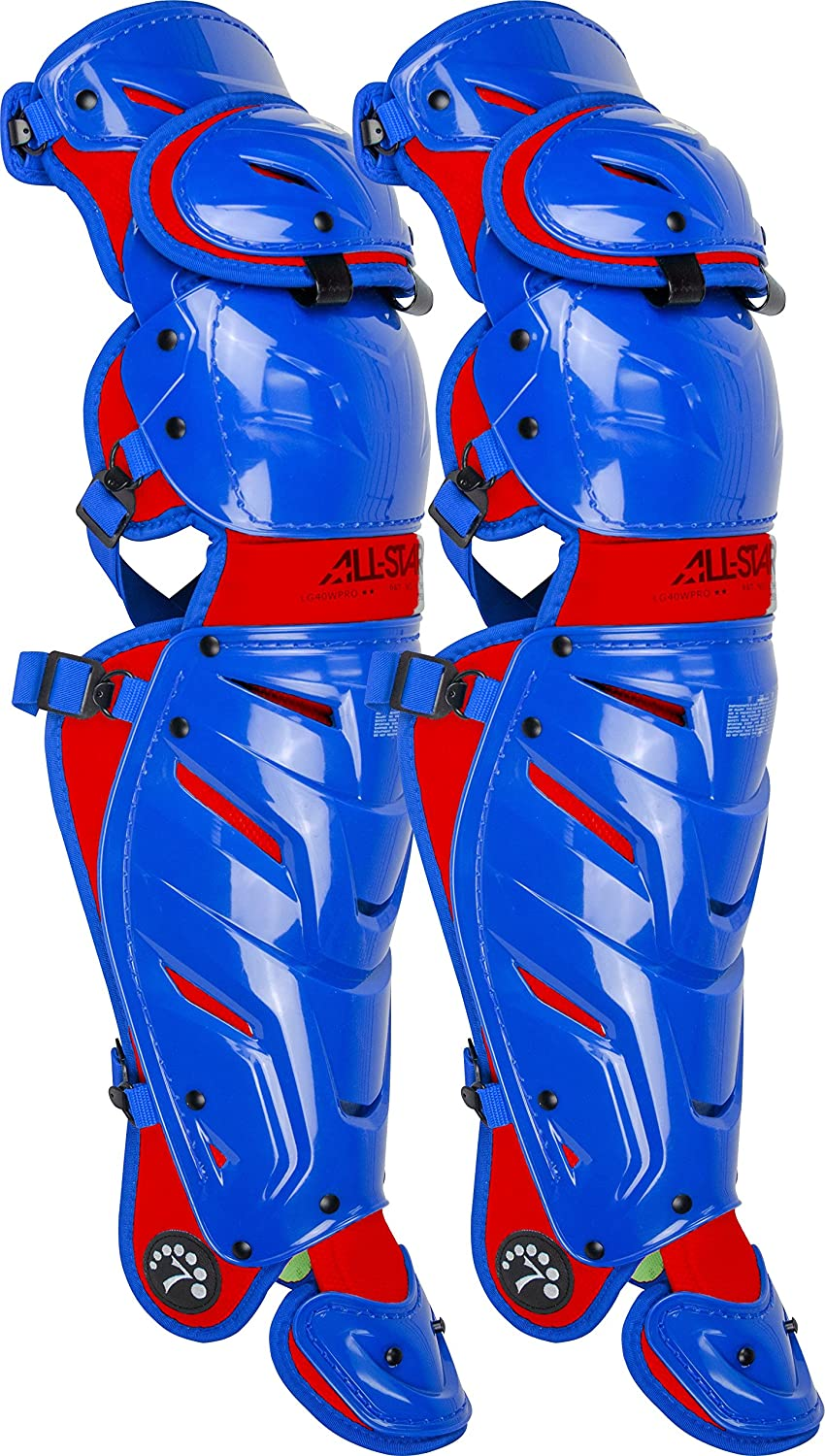 All-Star Adult System 7 Axis Catchers Leg Guards