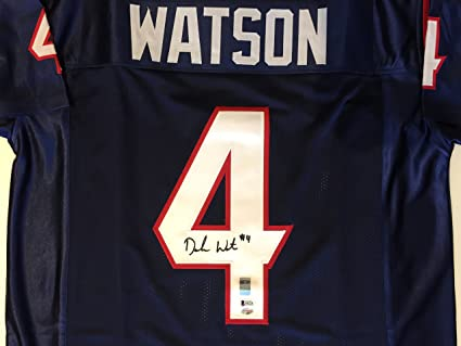 hot sale online 68653 97b19 Deshaun Watson Autographed Houston Texans Jersey. Signed ...