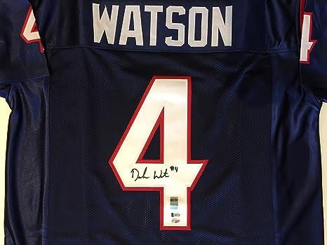 7654243e0 Deshaun Watson Autographed Houston Texans Jersey. Signed. BAS COA at ...