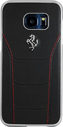 876066141 Image Unavailable. Image not available for. Colour: The Kase Collection  Ferrari 488 Genuine leather Case for Samsung Galaxy S7 Edge ...