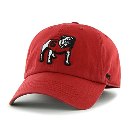 new arrival d7a3c 84aec NCAA Georgia Bulldogs  47 Brand Franchise Fitted Hat, Red, Large