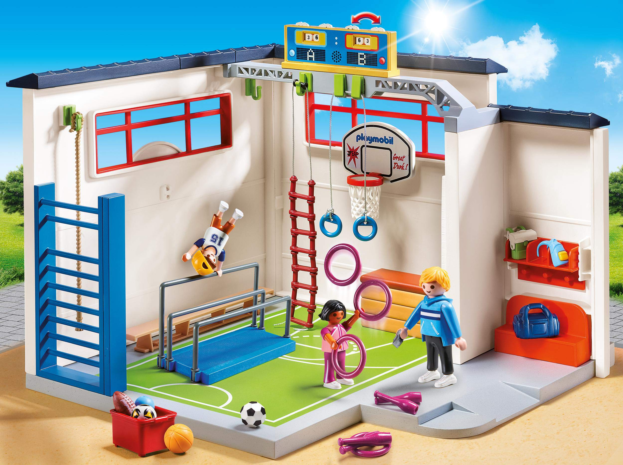 PLAYMOBIL® Gym Building Set by PLAYMOBIL® (Image #3)