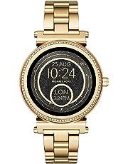 Michael Kors Damen Smartwatch Sofie MKT5021, Gold/Schwarz