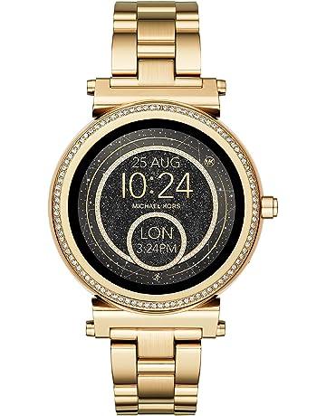 Michael Kors Reloj Mujer de Digital con Correa en Acero Inoxidable MKT5021