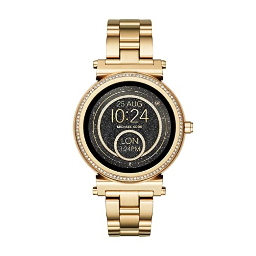 9a5ecdf08a18 Michael Kors Women s Smartwatch Sofie MKT5021  Amazon.co.uk  Watches