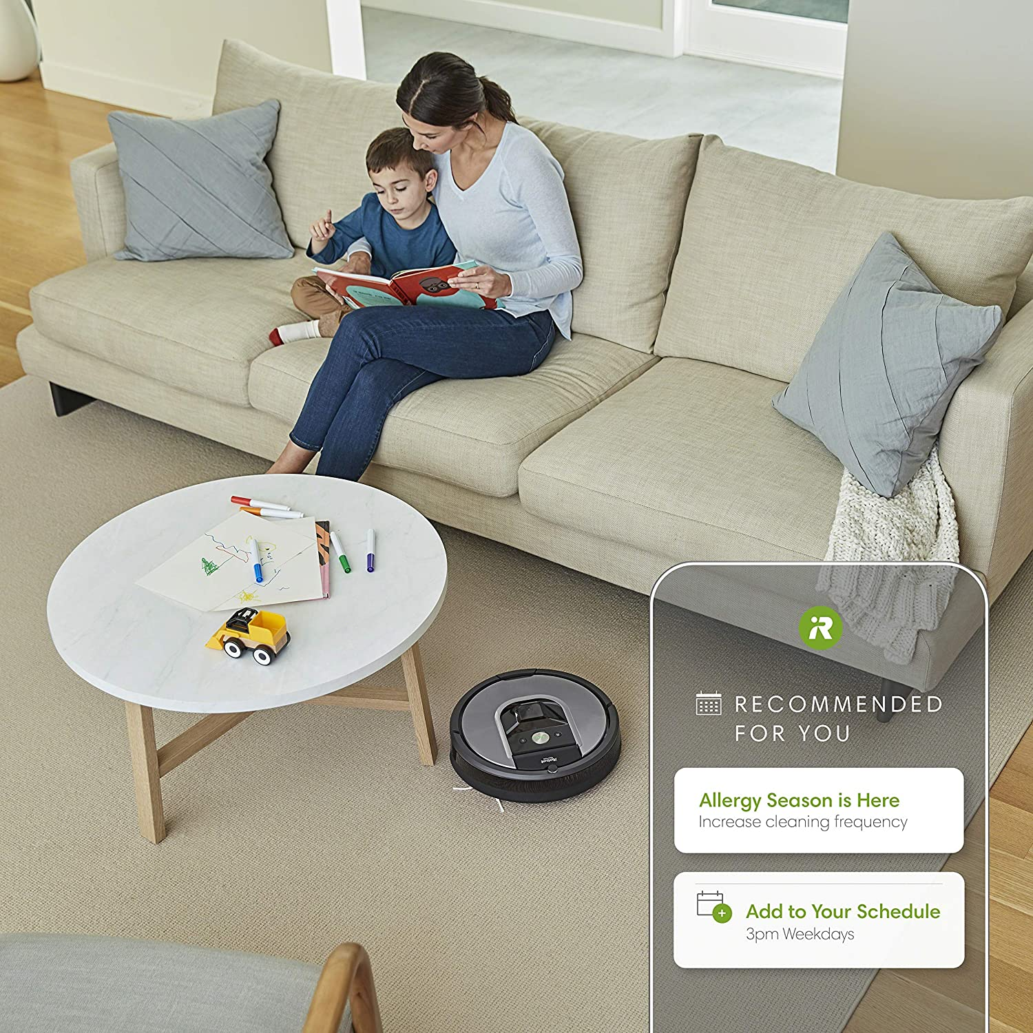 iRobot Roomba 960 Robot Vacuum- Wi-Fi Connected Mapping, Works with Alexa, Ideal for Pet Hair, Carpets, Hard Floors, Black -