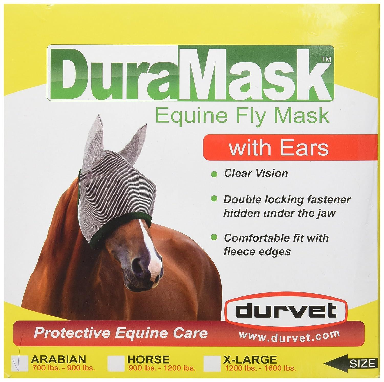 Durvet Equine 081-60021 Duramask Fly Mask With Ears Arabian
