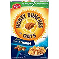 Deals on Post Honey Bunches of Oats w/Crispy Almonds Cereal 18oz