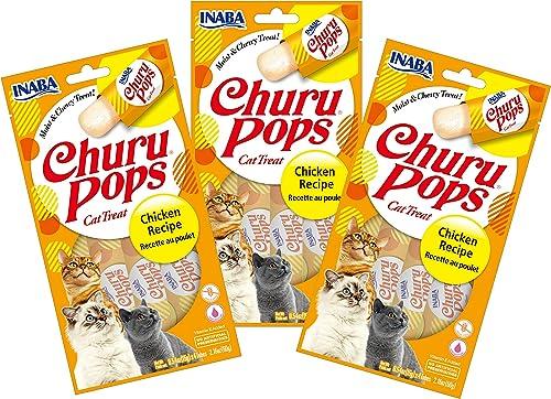 INABA Churu Pops Moist and Chewy Cat Treat