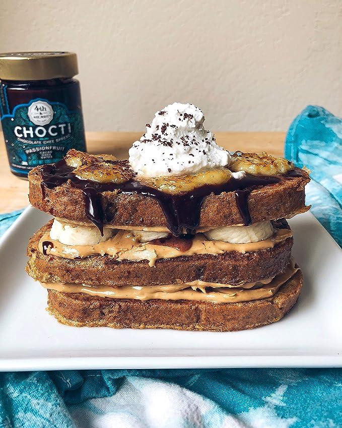 4th & Heart - Gluten Free Chocti Chocolate Ghee Difunde la fruta de la pasión - 12 oz.: Amazon.es: Alimentación y bebidas