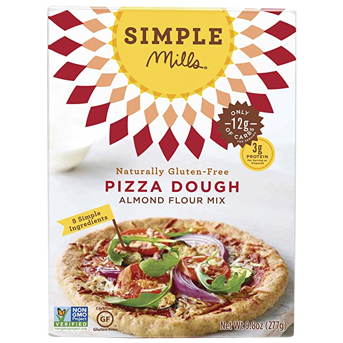 Simple Mills Almond Flour Mix, Pizza Dough, 9.8 oz