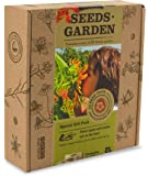 ORGANIC SEEDS GARDEN - GIFT PACK - 10 FLOWER Packets with Labels by VREMI TM