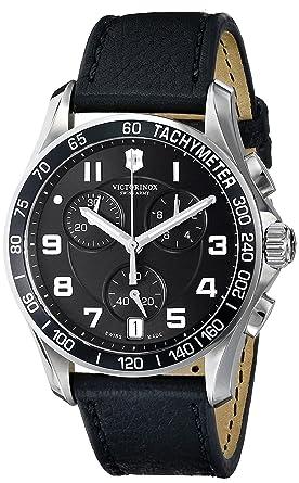 Victorinox 241493 - Reloj de Pulsera Hombre, Color Negro: Victorinox: Amazon.es: Relojes