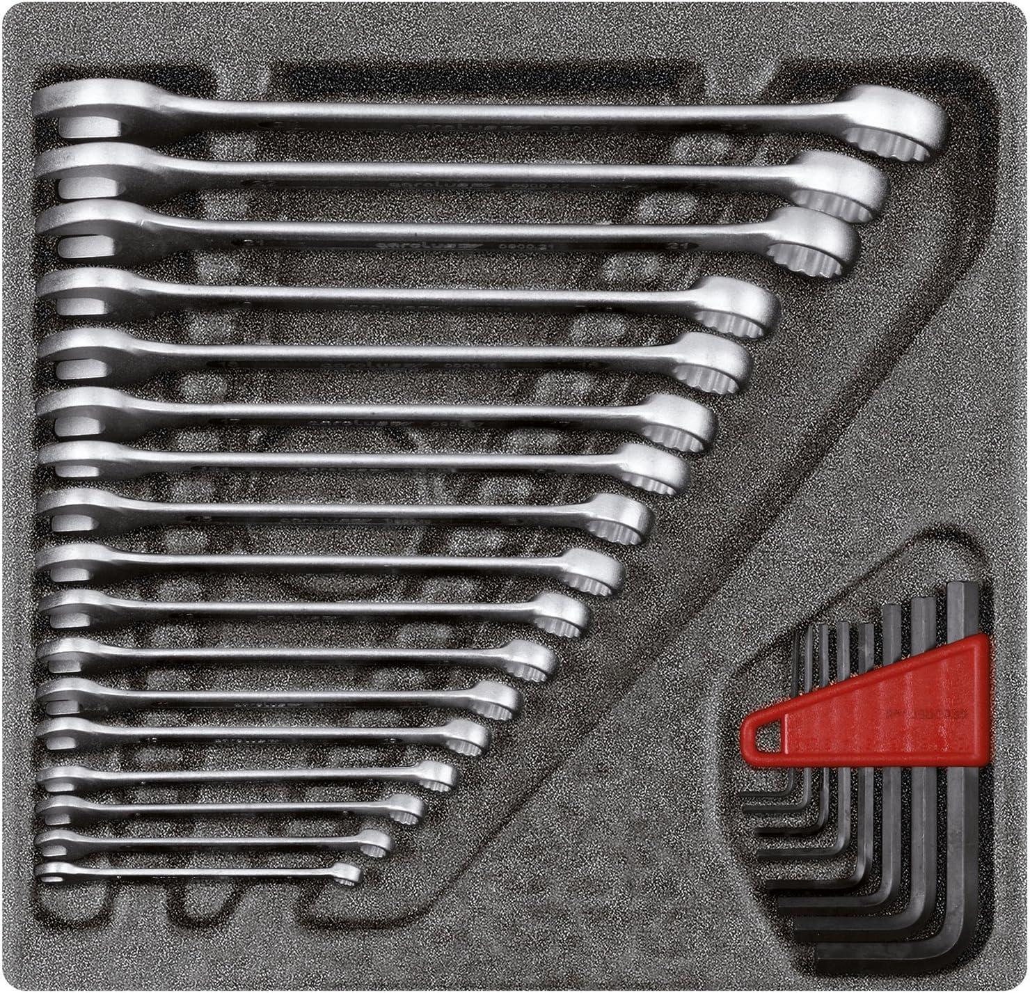 GEDORE RED Ring spanner set 4//6 CT-module 26pcs