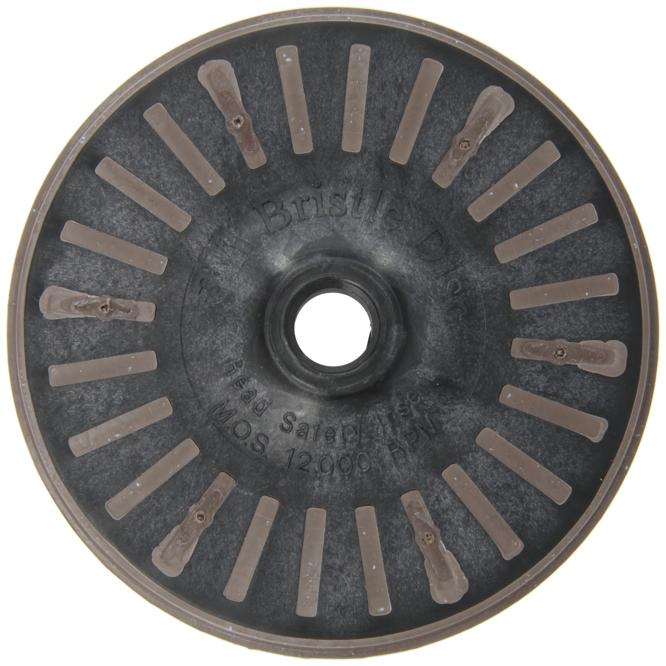 Scotch-Brite(TM) Bristle Disc, 12000 rpm, 4-1/2 Diameter, 36 Grit, Brown (Pack of 1)