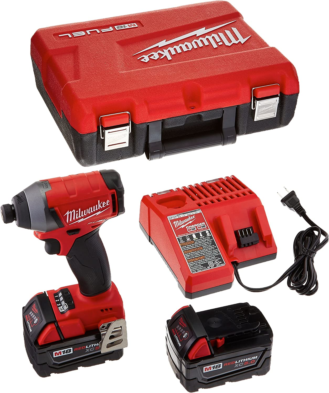 milwaukee electric tool gidds2 157188 m18 18v impact drive kit