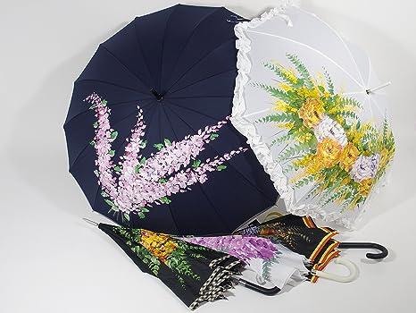 Paraguas, Pintado a Mano: Amazon.es: Equipaje