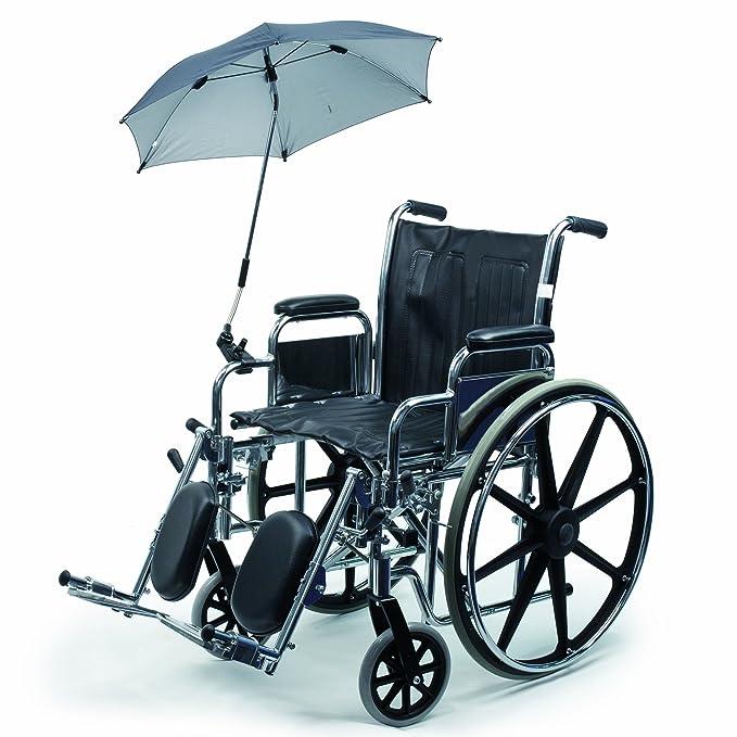 Vitility - Parasol/paraguas para silla de ruedas (70 cm): Amazon.es: Salud y cuidado personal