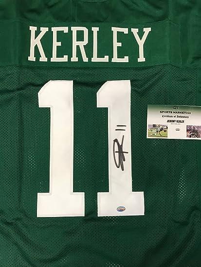 5632d588ebe Jeremy Kerley  11 New York Jets Signed custom stitched Jersey GT ...