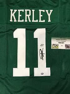 Jeremy Kerley #11 New York Jets Signed custom stitched Jersey GT ...