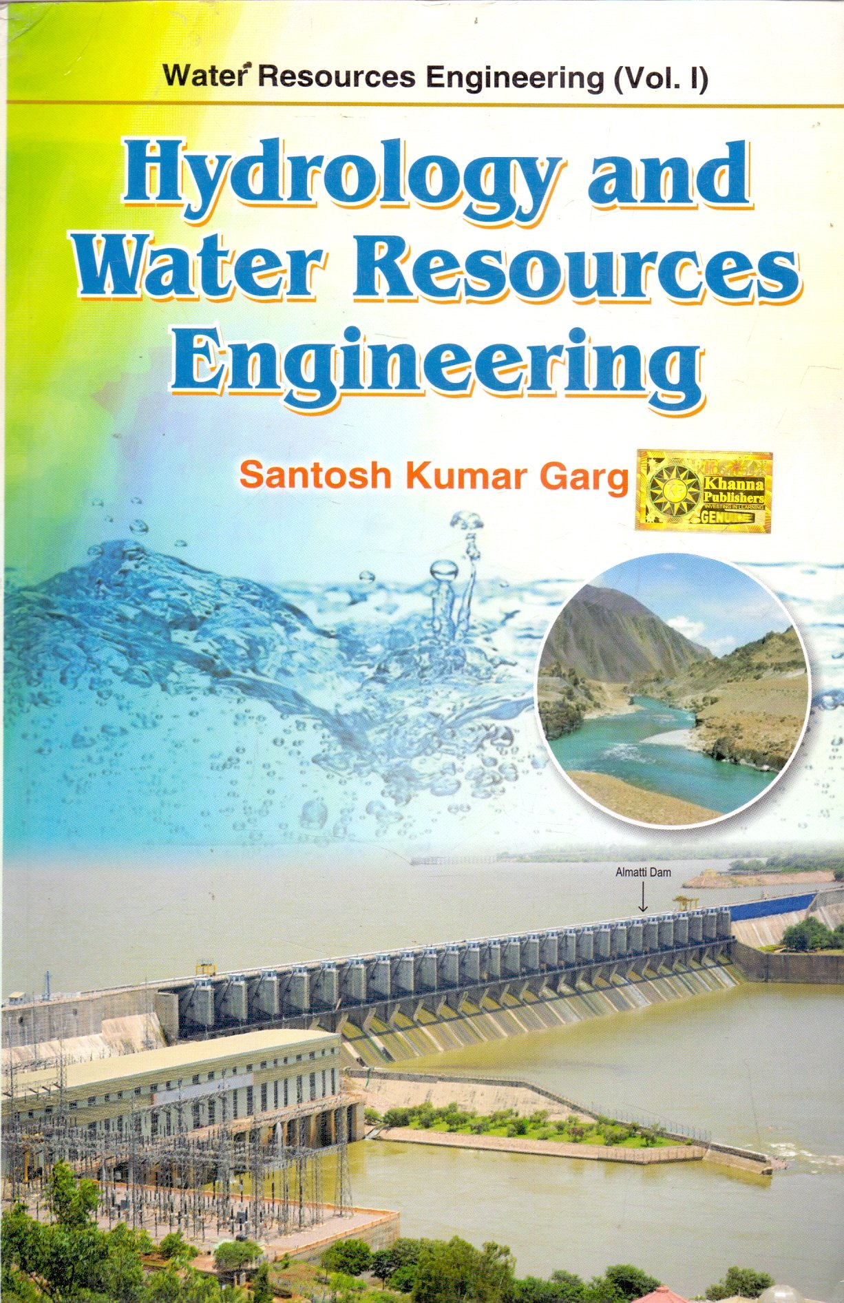Buy Water Resources Engineering Hydrology and Water Resources Engineering - Vol.1 Book Online at Low Prices in India | Water Resources Engineering Hydrology and Water Resources Engineering - Vol.1 Reviews & Ratings - Amazon.in